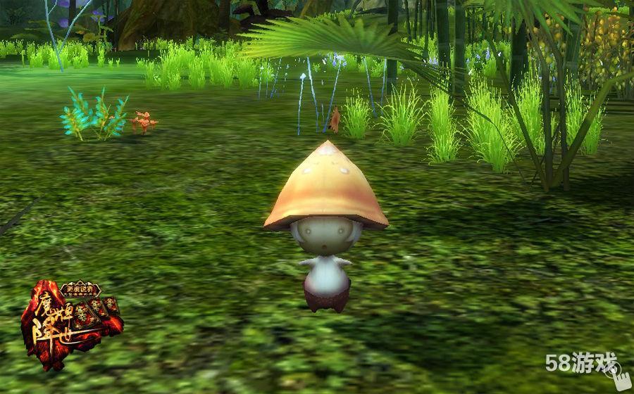 魔幻蘑菇动态壁纸3d